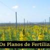 Planos de Fertilização de Vinha